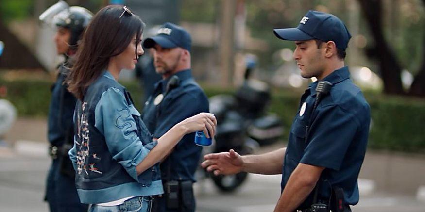 Kendall Jenner Slammed for Silence On Police Brutality After Pepsi Clips Resurface