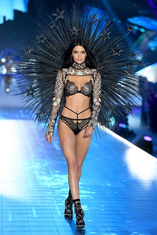 1290cdc80 See Kendall Jenner Walk the 2018 Victoria s Secret Fashion Show