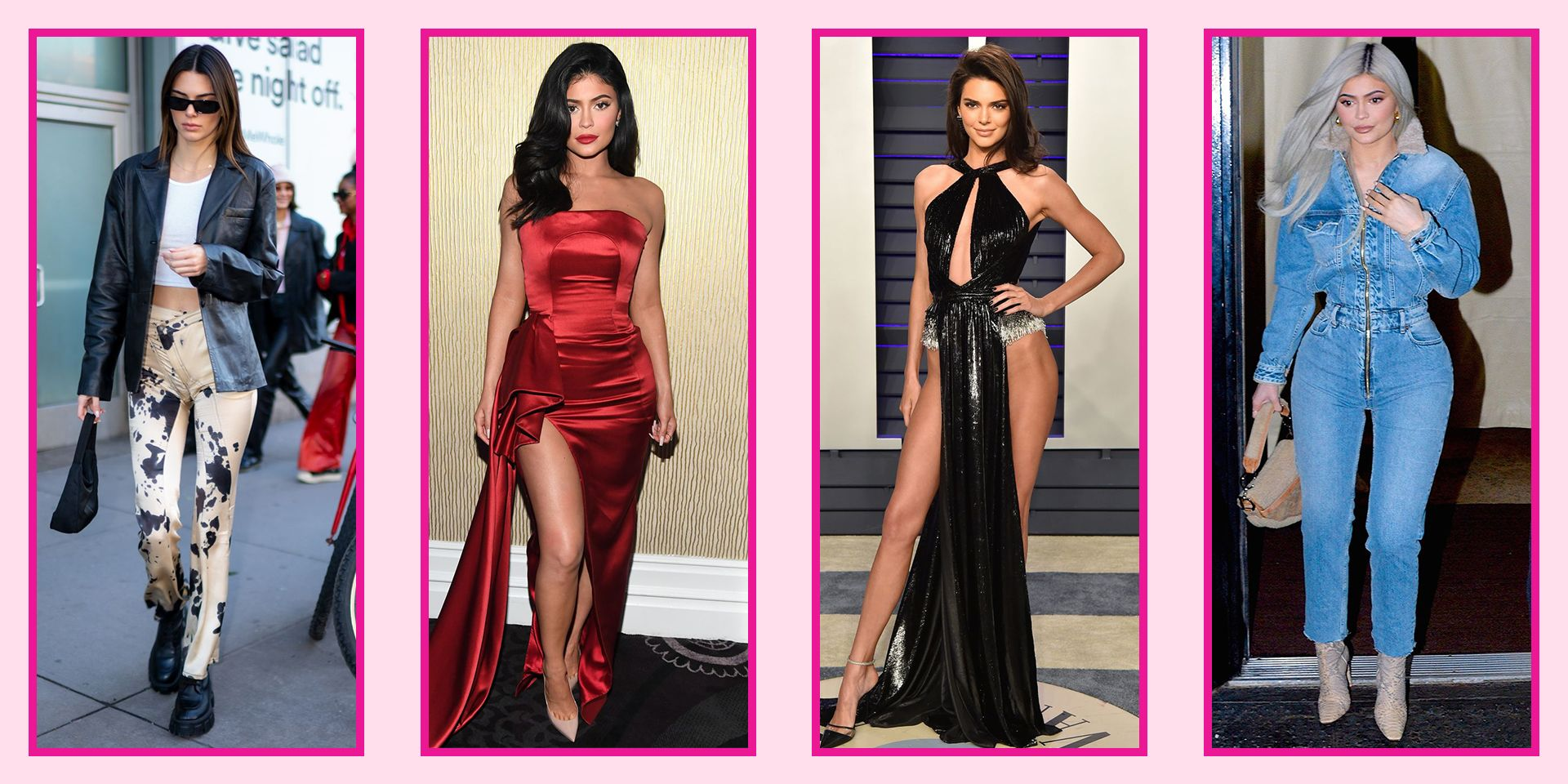 Kylie and Kendall Style Kendall Jenner's Best Outfits
