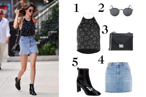 Clothing, Black, White, Footwear, Denim, Fashion, Jeans, Shorts, Dress, Street fashion,