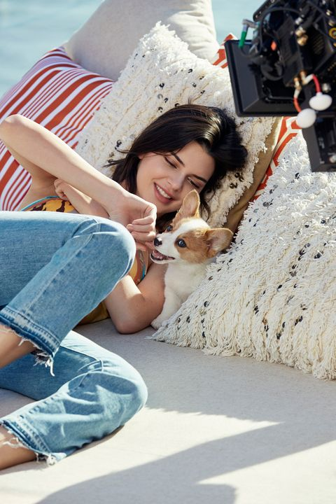 0bcf8e45ff6 Puppy training with Kendall Jenner