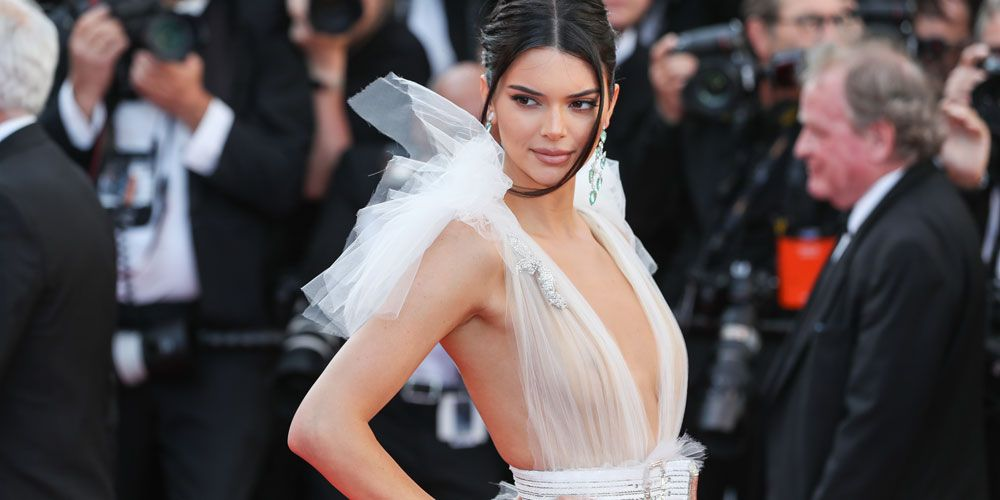 Kendall Jenner Wears Totally Sheer Dress at The Fashion