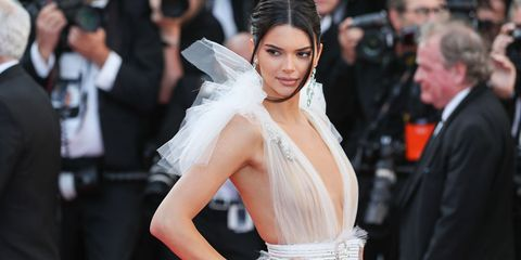 482b9da8f7 Kendall Jenner wore an insanely beautiful naked dress in Cannes