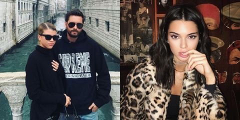 b855bf71fe Did Kendall Jenner just throw more shade at Sofia Richie?