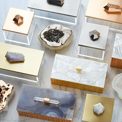Celeb Jeweler Kendra Scott's New Home Line Is Inspired by Crystals