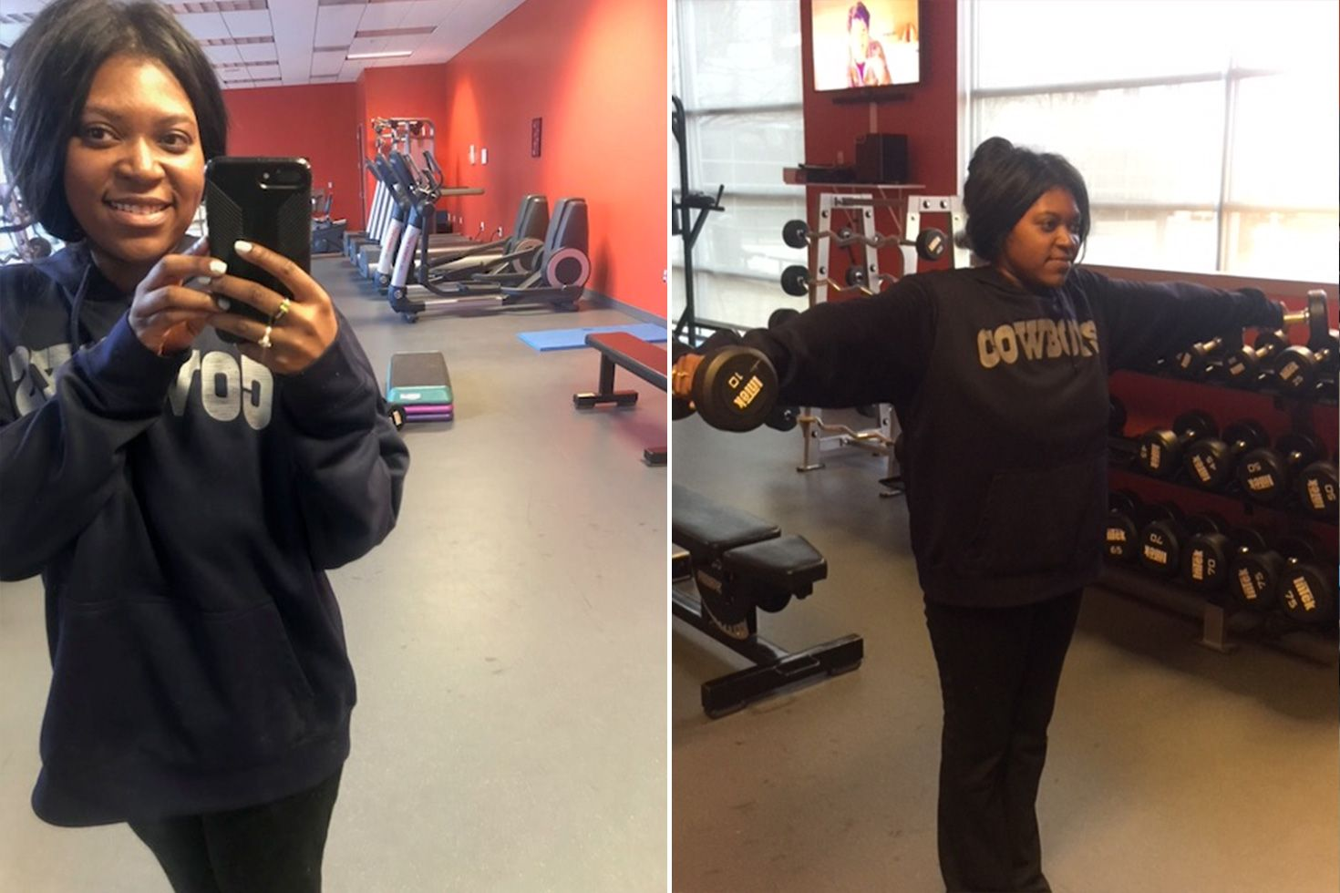 KenDrea Mayes weight loss workouts