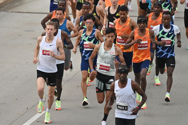 Galen Rupp Finishes Second at the 2021 Chicago Marathon