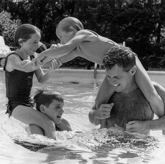Rare Photos of the Kennedy Family Show JFK Jr. and Caroline as Babies