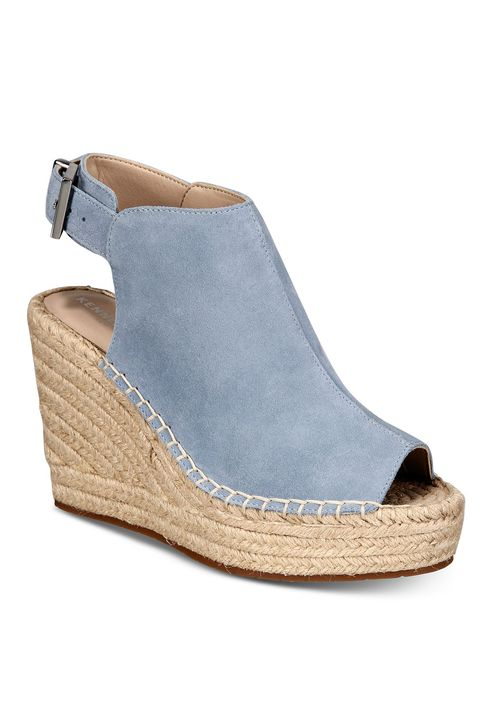 Footwear, Shoe, Slingback, Sandal, Beige, Espadrille, Wedge,
