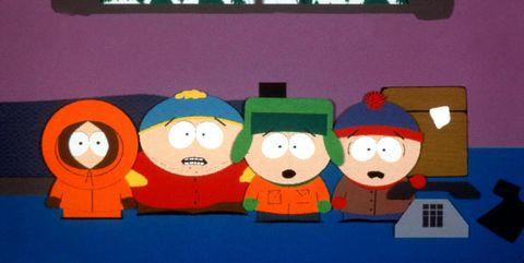 کنی ، کارتمن ، کایل و استن ، South Park