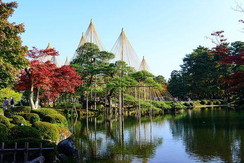 japan, kanazawa kenroku en garden