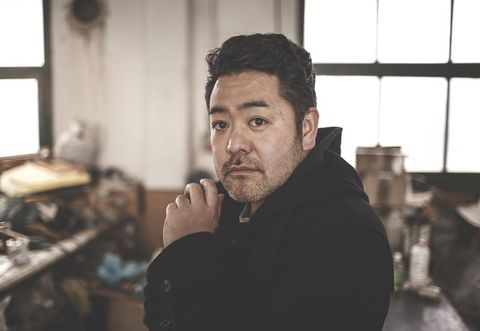 RITRATTO DEL DESIGNER KENSAKU OSHIRO