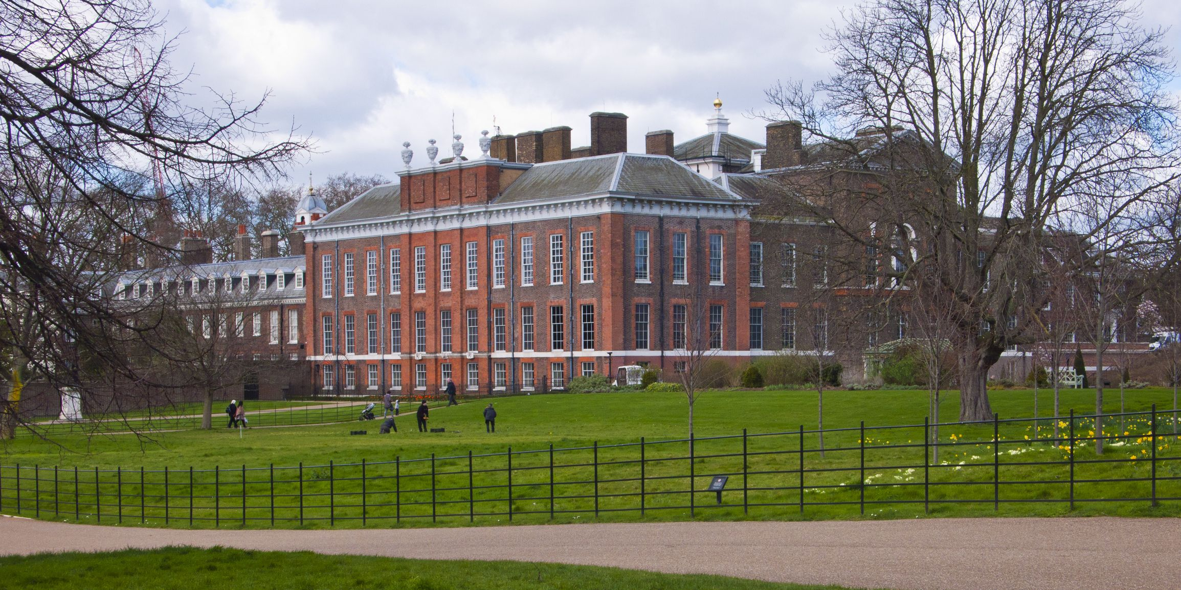 Kensington Palace and Gardens, Manchester England, United Kingdom.