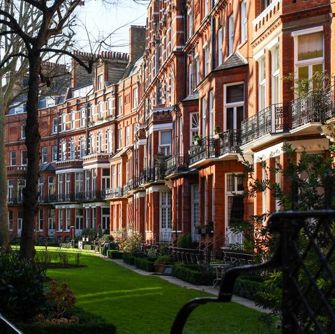 Kensington row of houses