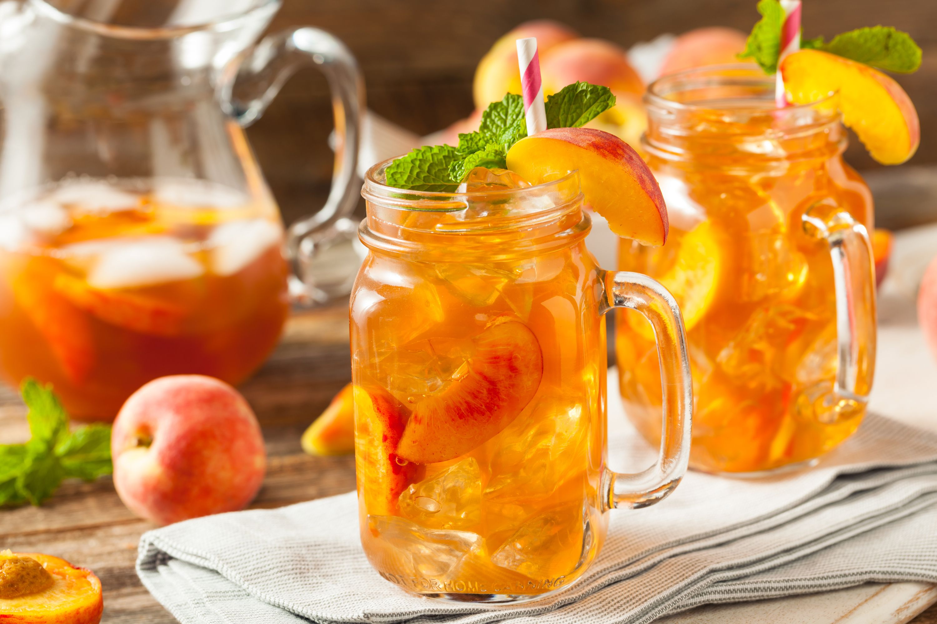 Fresh And Fruity Peach Schnapps Cocktails