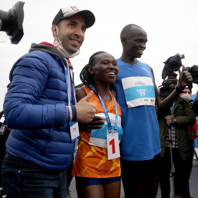 ruth chepngetich smashes half marathon world record in istanbul