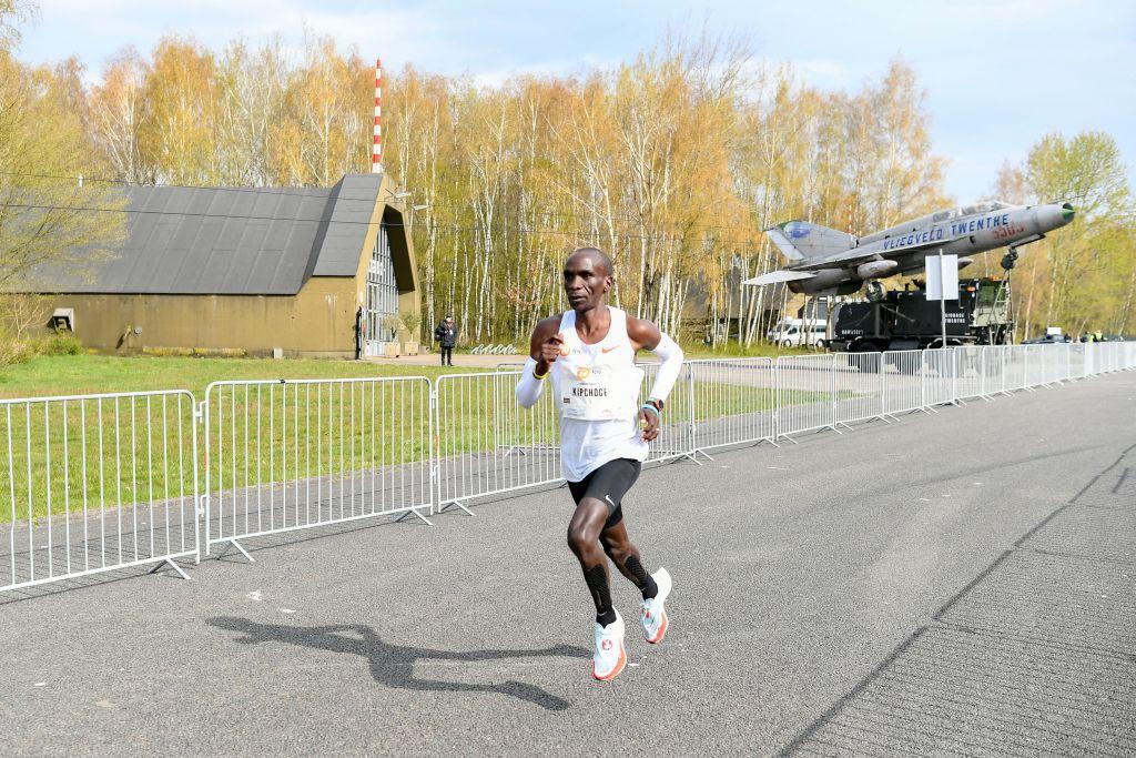 Eliud Kipchoge Wins NN Mission Marathon