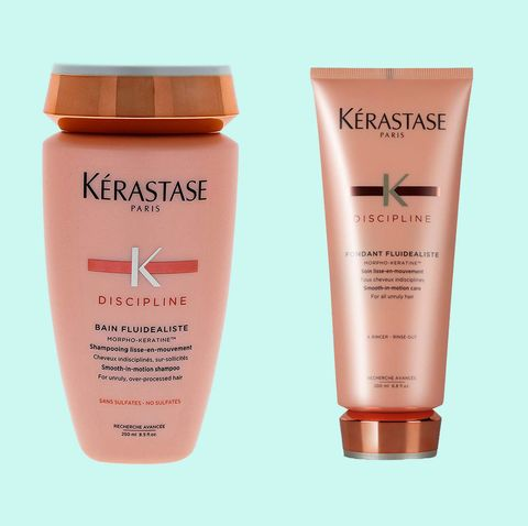 Kérastase Discipline Gentle Smooth-in-Motion Shampoo and Discipline Fondant Fluidealiste Conditioner