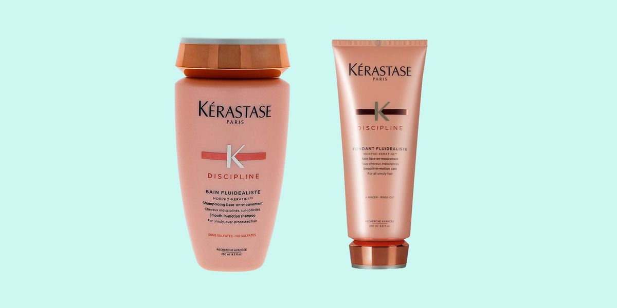 Kérastase Discipline Gentle Smooth-in-Motion Shampoo and Discipline Fondant Fluidealiste Review