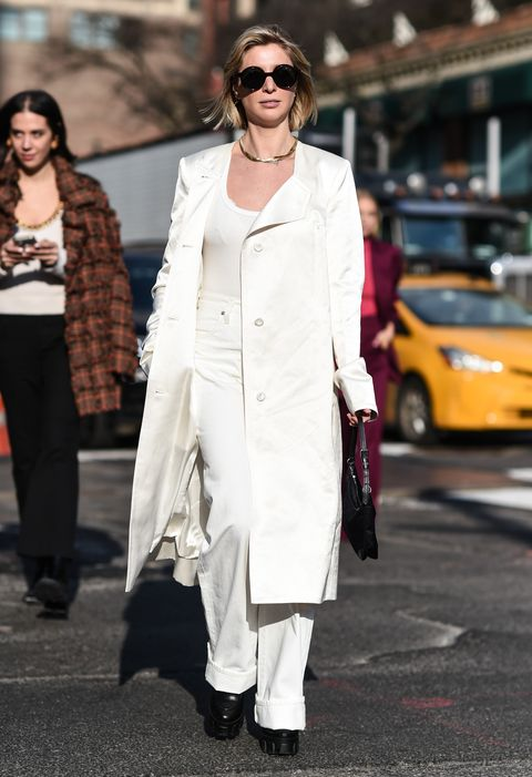 Street Style - Day 4 - New York Fashion Week February 2020