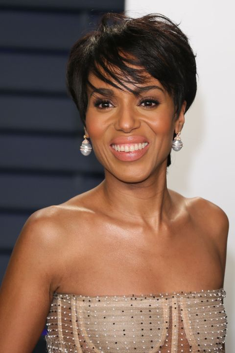 Kerry Washington Pixie Haircut - US-entertainment-film-Oscars-award