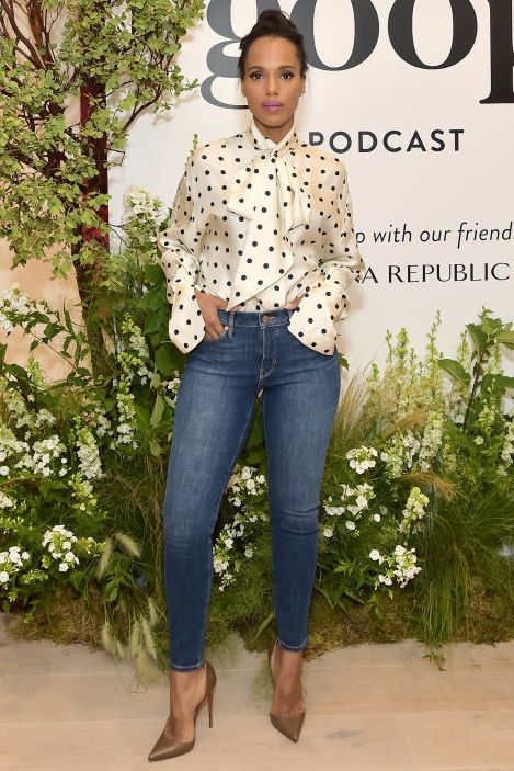 Gwyneth Paltrow And Kerry Washington Host A Live Episode Of The goop Podcast With Banana Republic