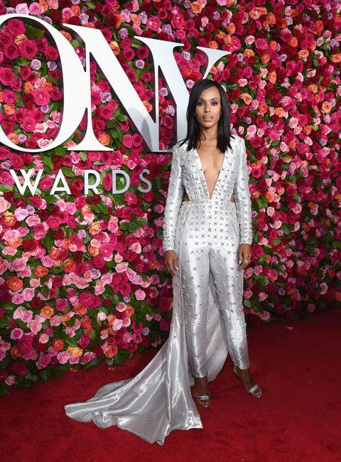 kerry washington 2018 Tony Awards - Red Carpet