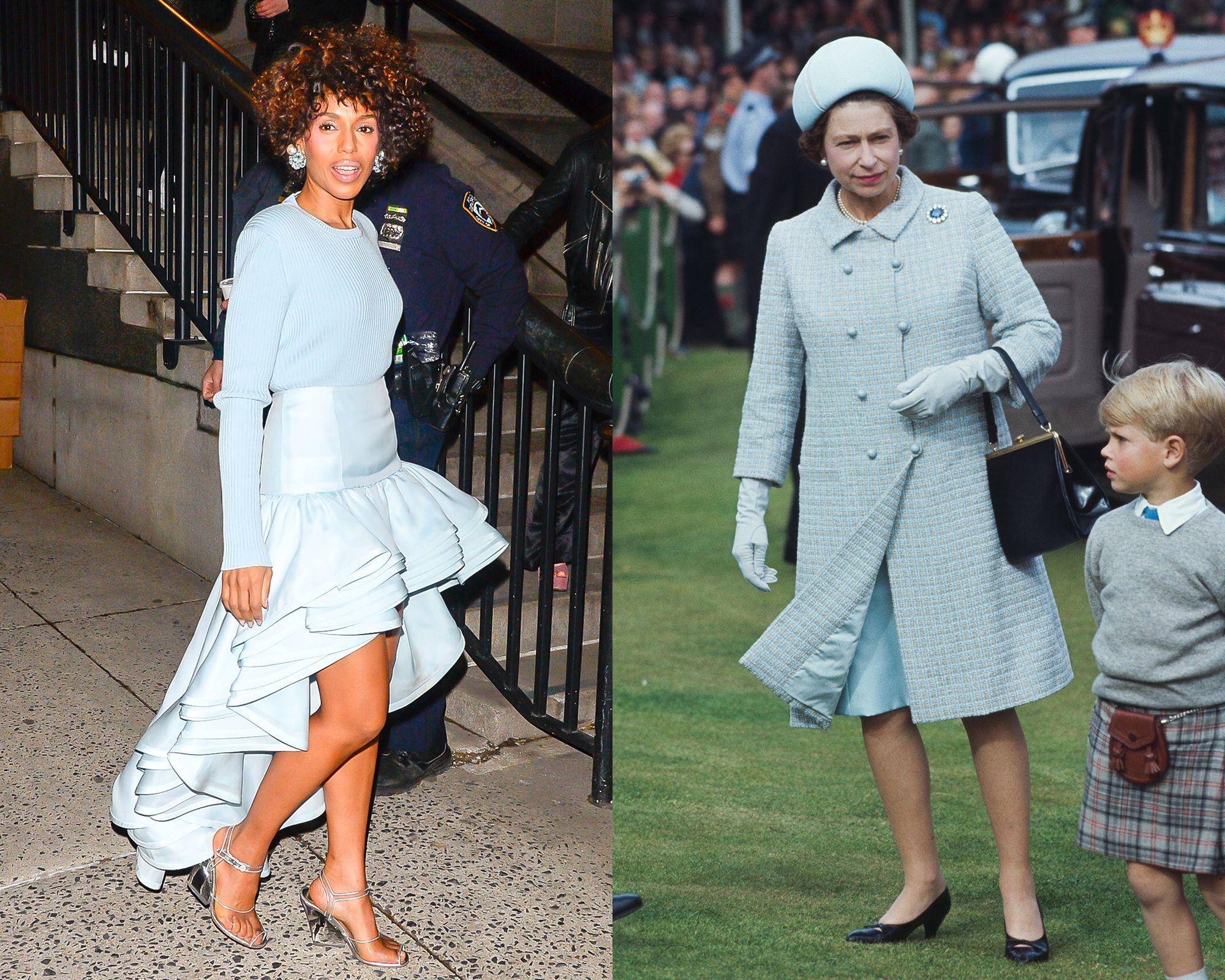Kerry Washington vs. the Queen