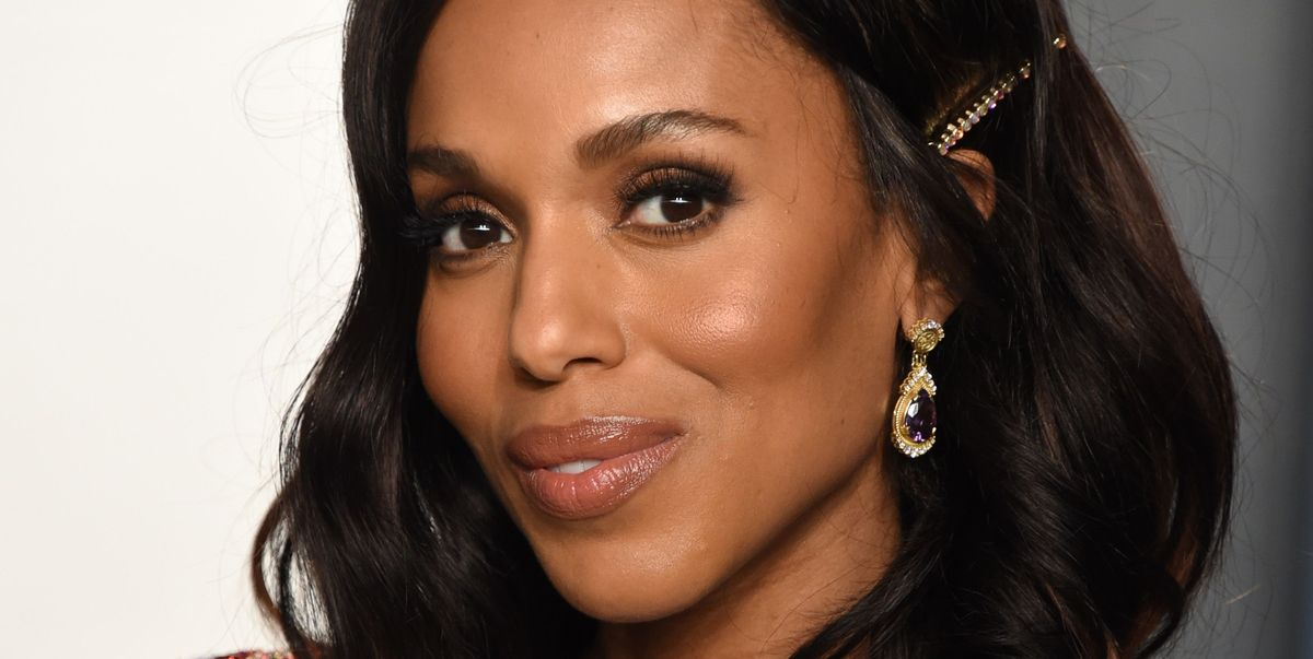 Kerry Washington, 43, Learned Her Fave Skincare Lesson From Her Mom
