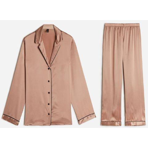 kerstcadeau giftguide silk satin trousers