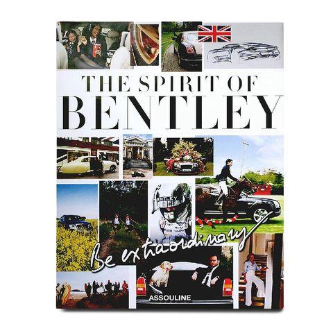 """kerstcadeaus vader assouline """"be extraordinary, the spirit of bentley boek"""""""