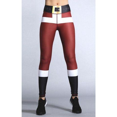 funky legging kerstman