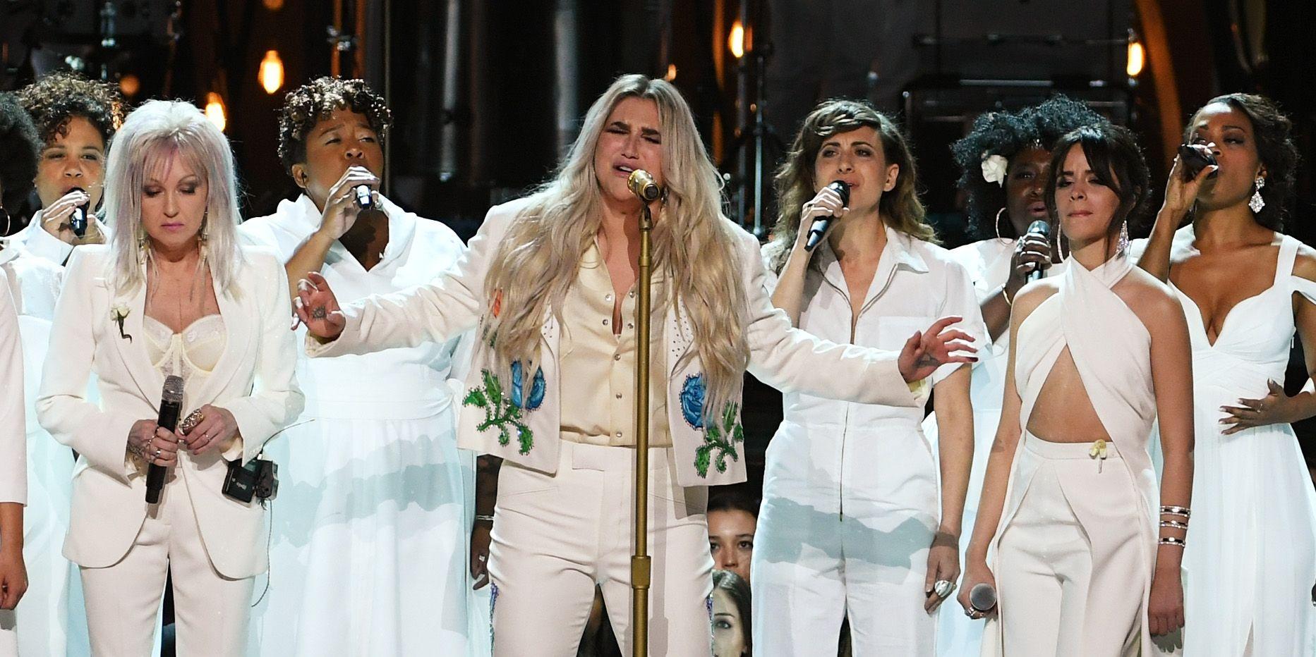 Kesha Grammys 2018