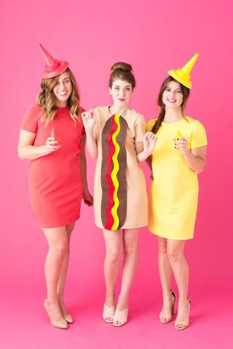 hot dog best friends costumes
