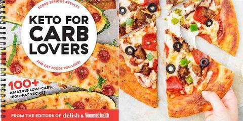 Fathead Supreme Pizza - Get the Recipe From 'Keto For Carb