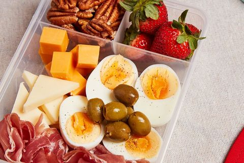 Dish, Food, Cuisine, Ingredient, Prosciutto, Brunch, Cold cut, Salt-cured meat, Breakfast, Platter,