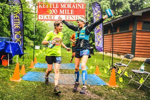 Green, Adventure racing, Trail, Outdoor recreation, Ultramarathon, Recreation, Running, Athlete, Long-distance running, Tree,
