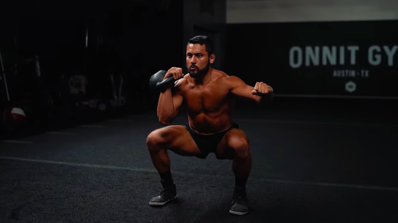 This Challenging Kettlebell Flow Workout Is Ideal if You're a Beginner