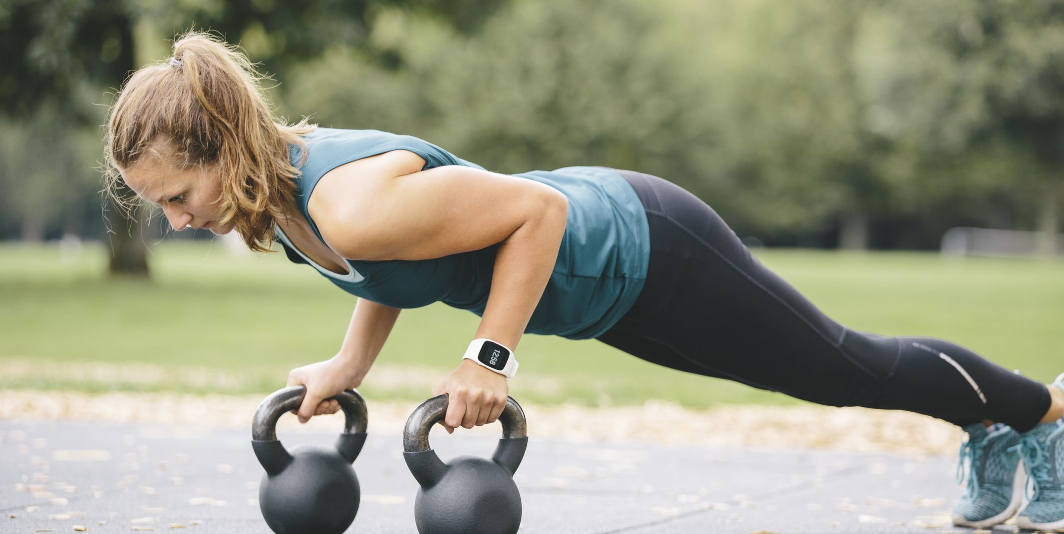 Searching for a Full Body Kettlebell Workout? Build Strength with this 30 Min Circuit
