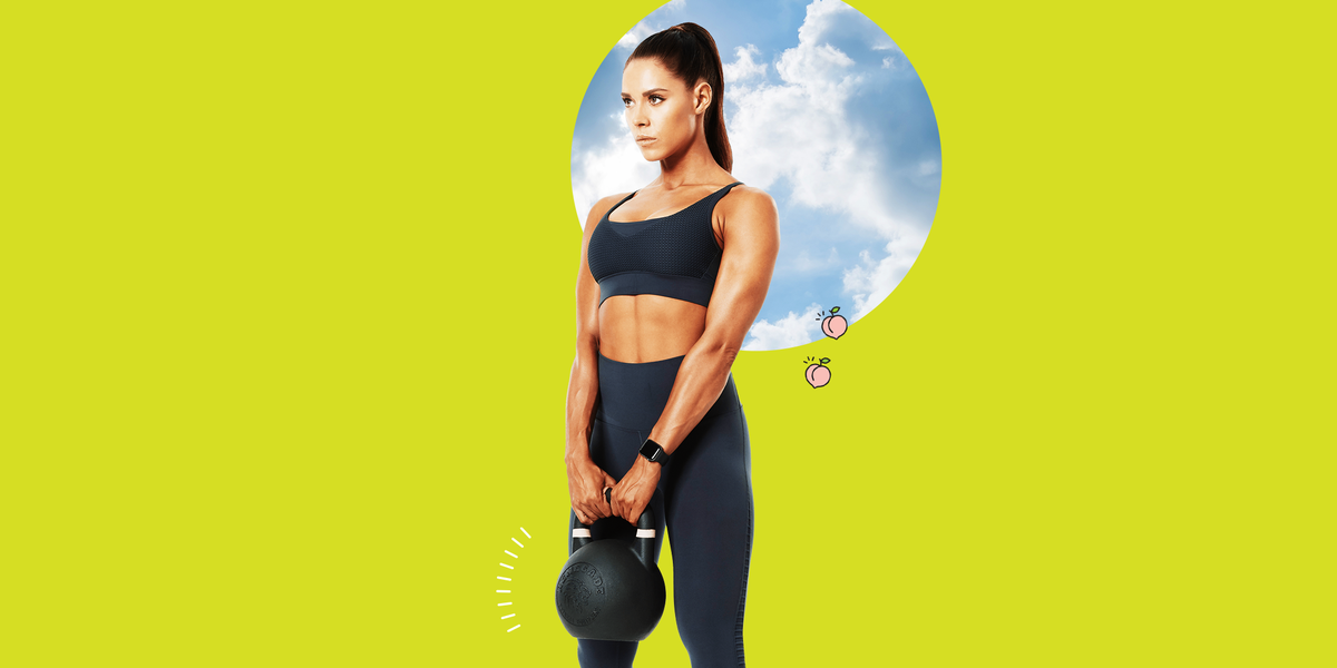 This 15-Minute Full-Body Kettlebell Workout Works All of the Muscles