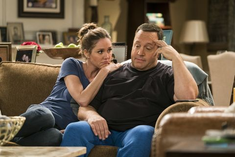 """Erinn Hayes and Kevin James on """"Kevin Can Wait"""""""