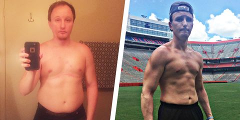 This Lifelong Athlete Took Things Slow for Once—and Lost 60 Pounds