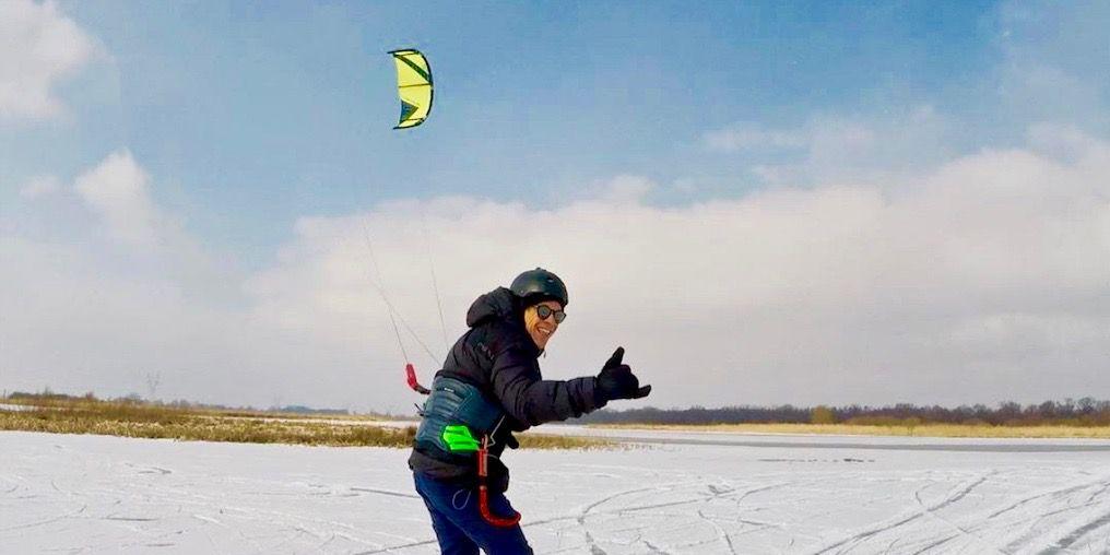 Kevin Langeree, kitesurf