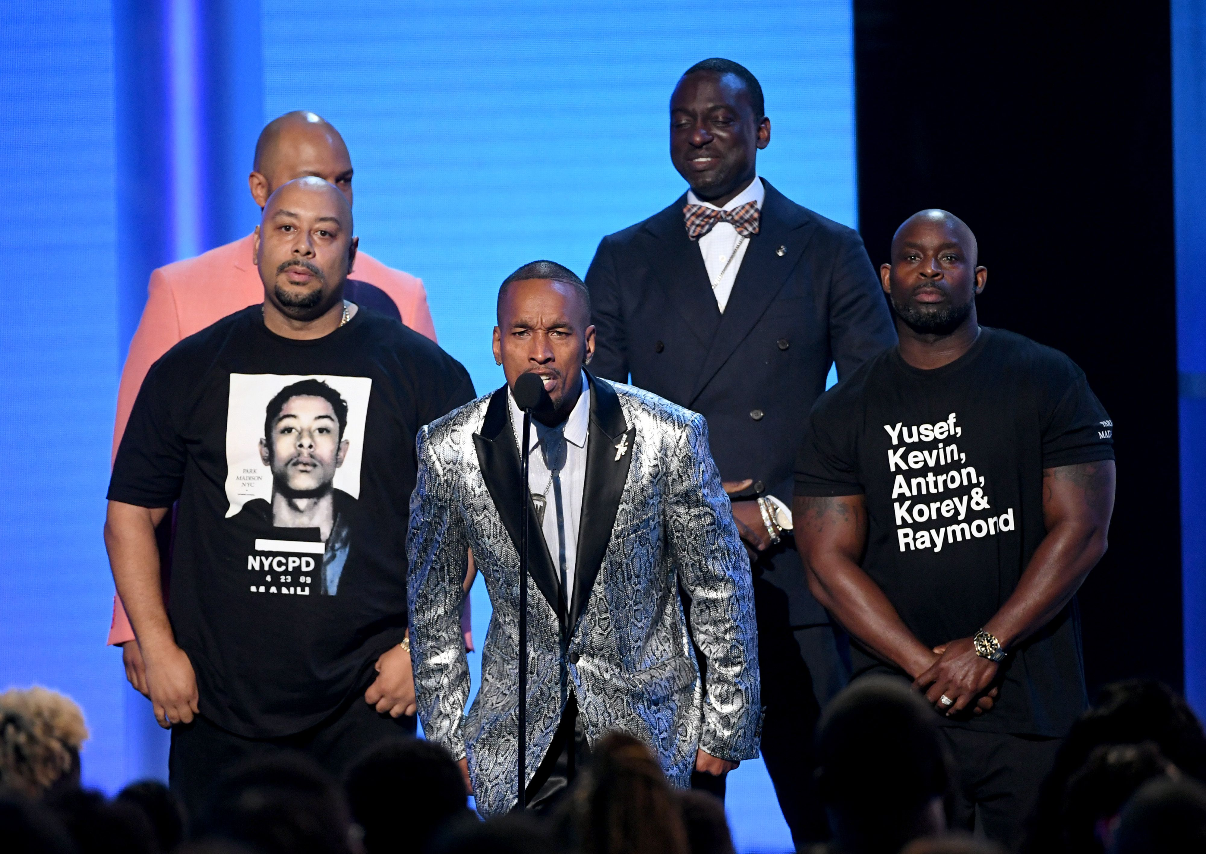 The Exonerated Five Made a Triumphant Appearance at the BET Awards