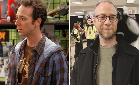 Kevin Sussman, The Big Bang Theory, then and now