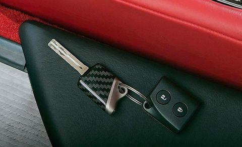 2012 lexus lfa ignition key