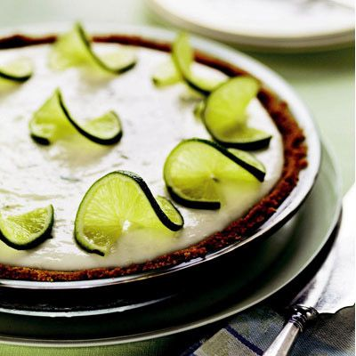healthy dessert key lime pie