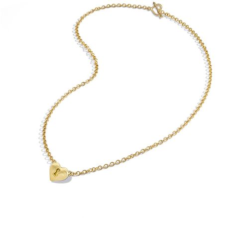 mish new york key to heart necklace