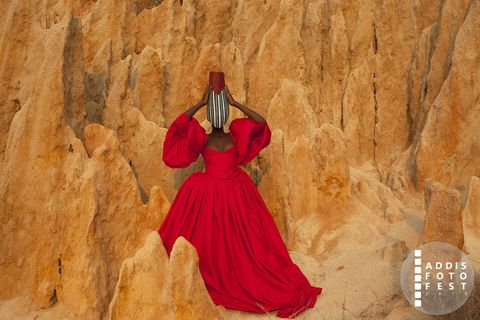 Forza, donna africana, Africa,Keyezua, Angola, Addis Foto Fest (AFF) 2018