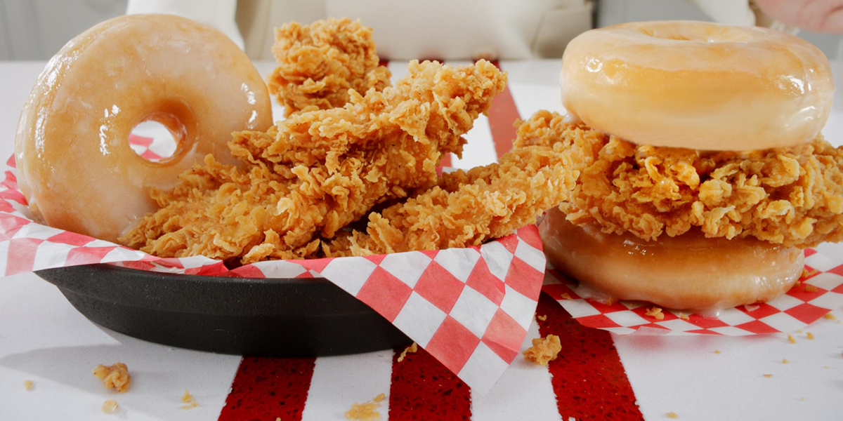Is It Bad That We Think These KFC Doughnut And Fried Chicken Burgers Look Ace?